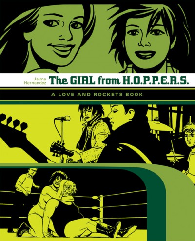 The Girl from HOPPERS (Love & Rockets) (Locas-2)